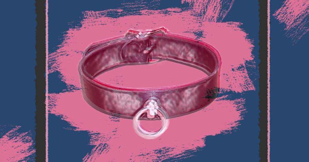 Bild zur Bonding-Serienkritik, ein BDSM-Halsband.