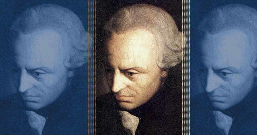 Bild zu Kants vier Fragen, Porträt von Immanuel Kant